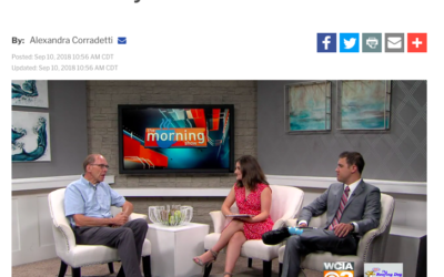 UPF President Fred Delcomyn Visits WCIA News Channel 3 Morning Show