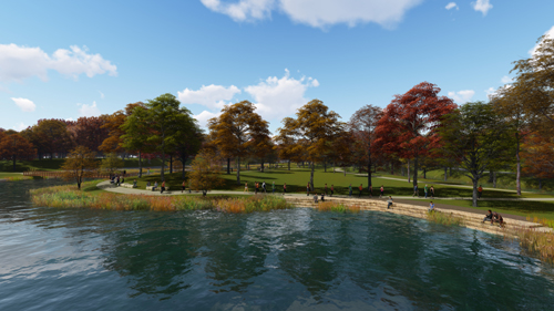 Crystal Lake Park rejuvenation project